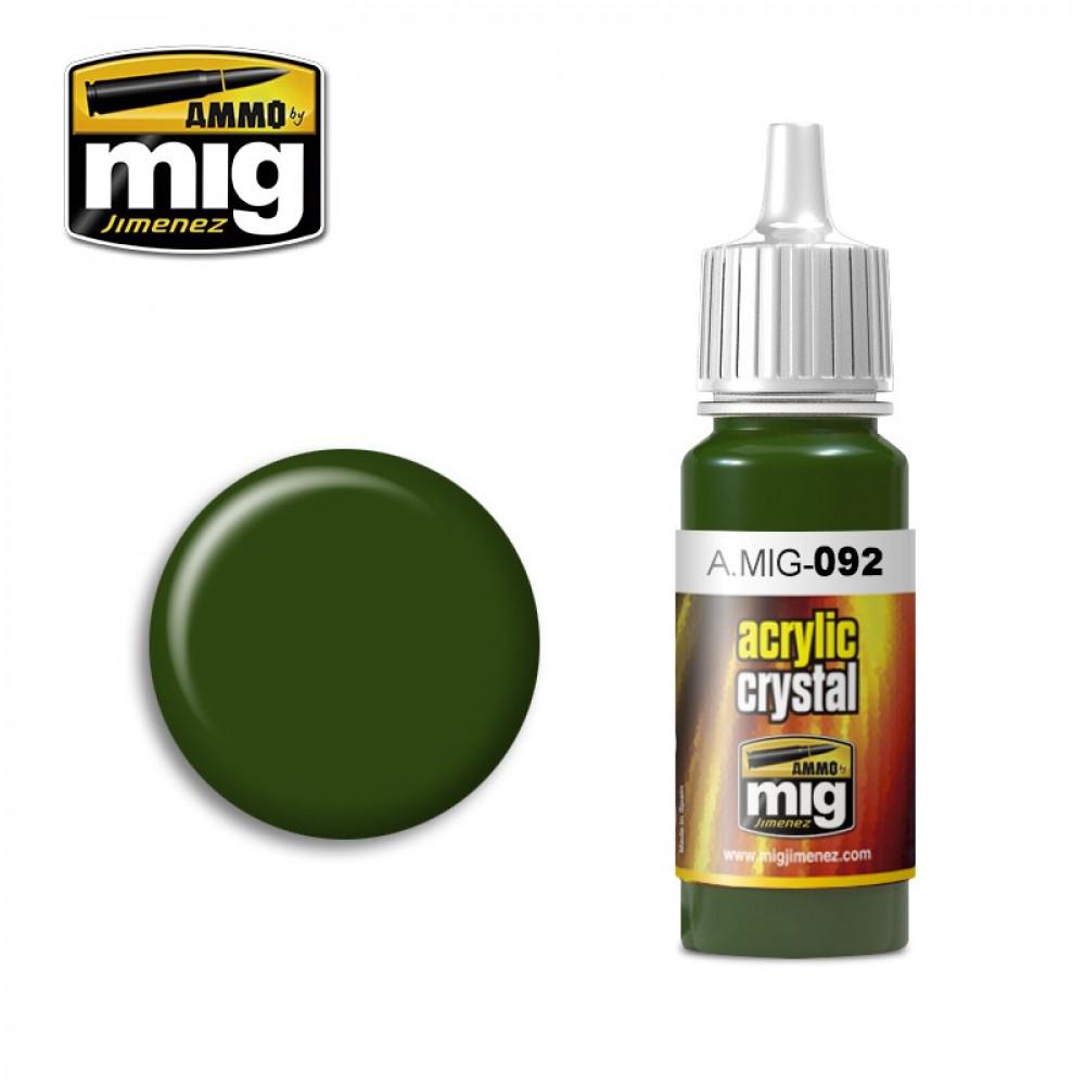 CRYSTAL GREEN AMIG0092 AmmoMig (17ml)