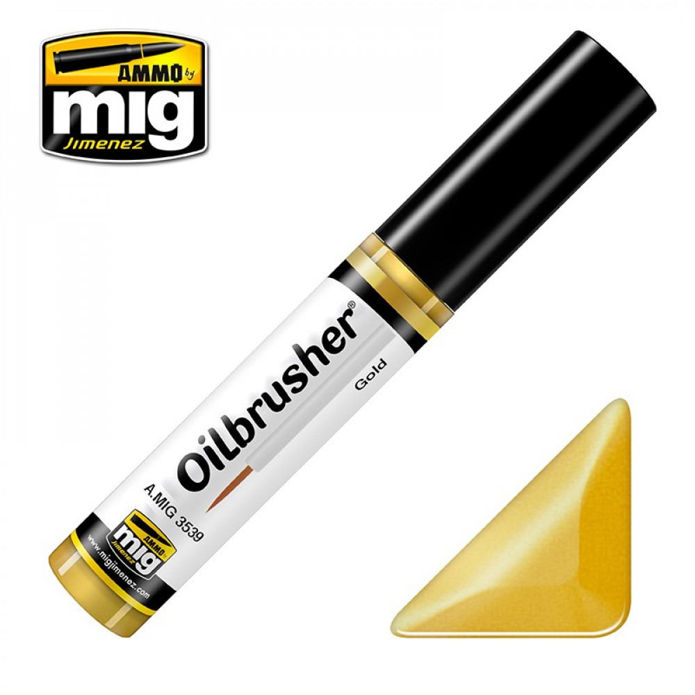 GOLD - OILBRUSHER