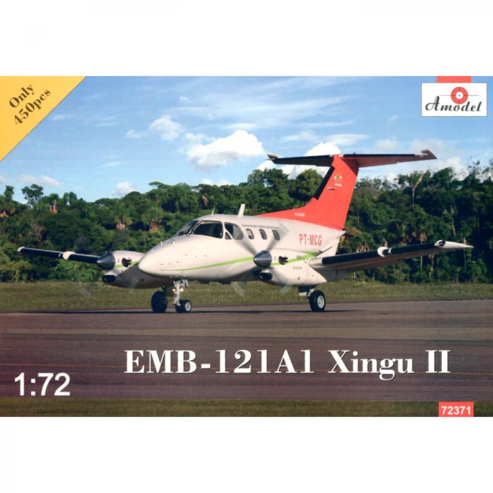 EMB-121A1 XINGU II 1/72 Amodel 72371