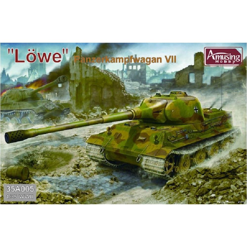 Panzerkampfwagen VII Lowe  1/35 Amusing Hobby 35A005