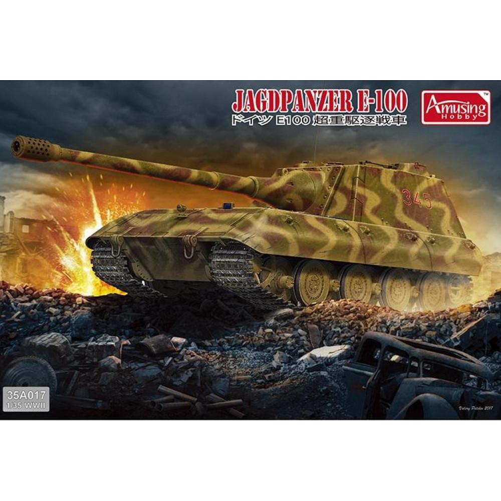 Jagdpanzer E-100 1/35 Amusing Hobby  35A017