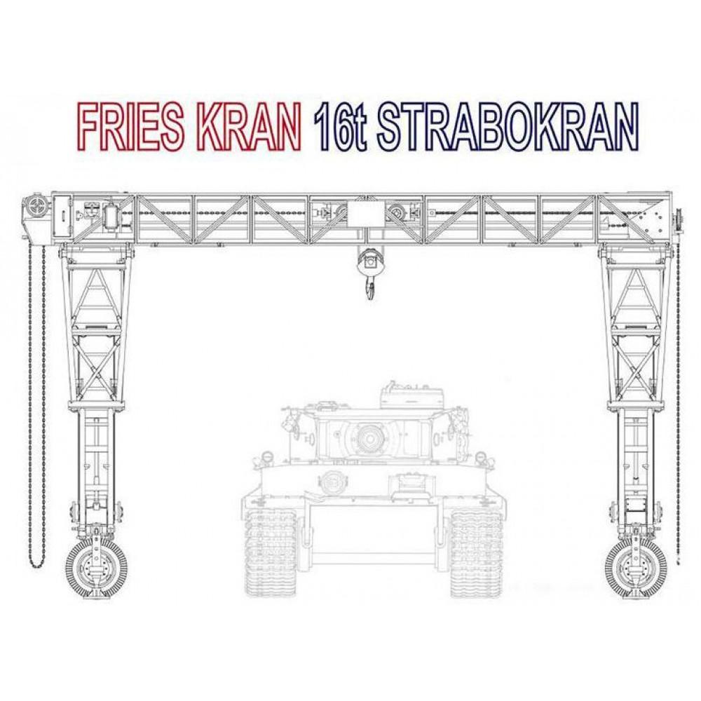 Fries Kran 16t Strabokran, 1/35 Amusing Hobby 35B003
