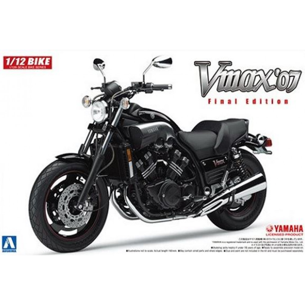 YAMAHA VMAX '07 Final Edition 1/12 Aoshima 05165