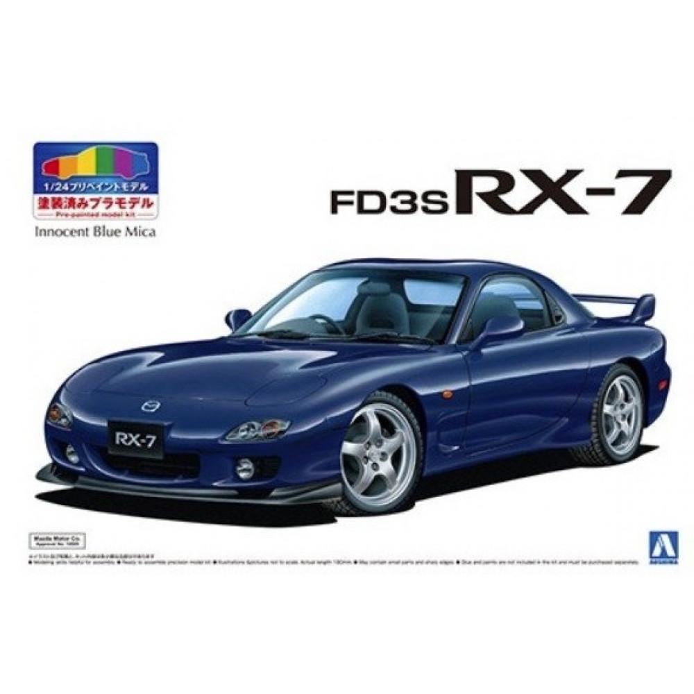 Mazda FD3S RX-7 '99 (Innocent Blue mica) 1/24 Aoshima 05498
