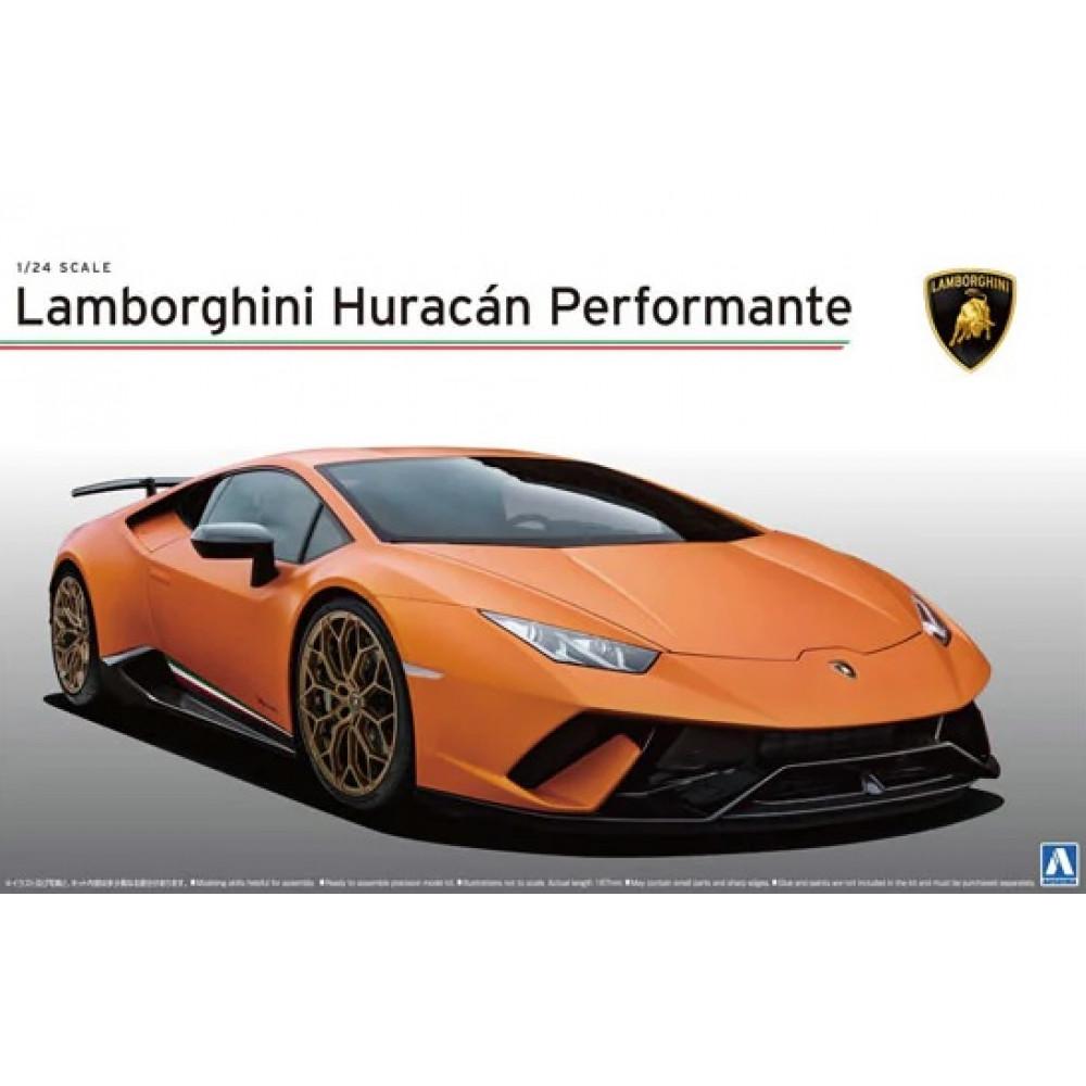 Lamborghini Huracan Performante 1/24 Aoshima 05600