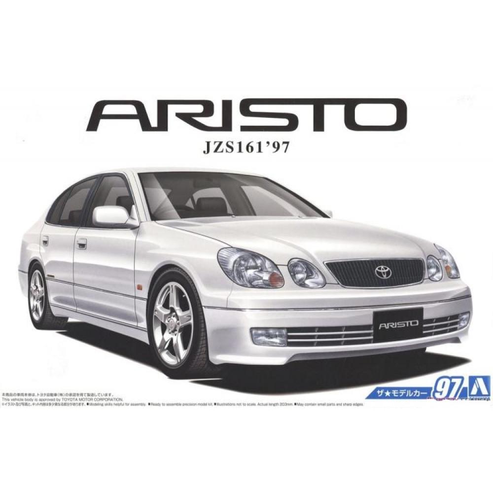 Toyota Aristo JZS161 V300 Vertex Edition '97 1/24 Aoshima 05668