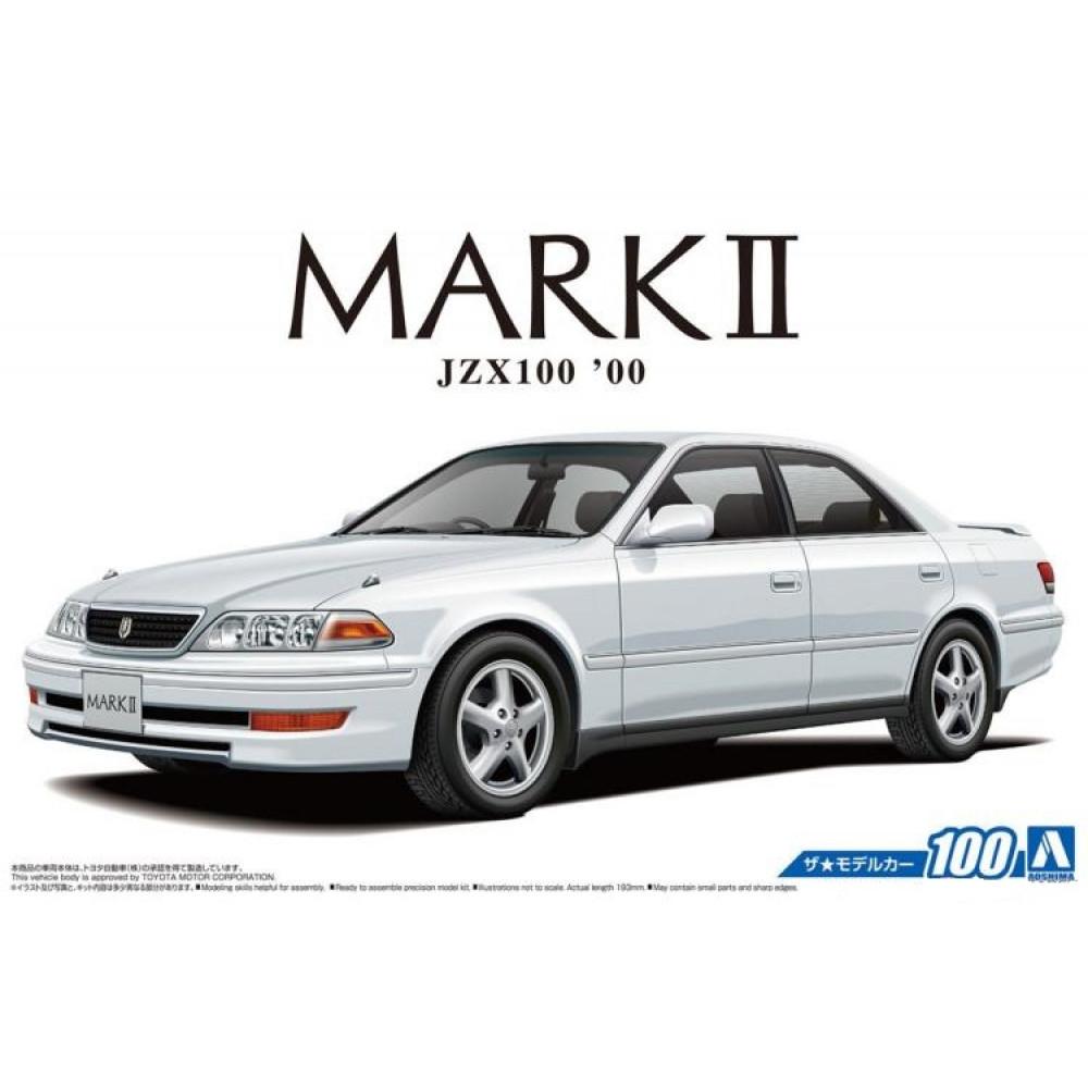 Toyota JZX100 Mark II Tourer V '00 1/24 Aoshima 05680