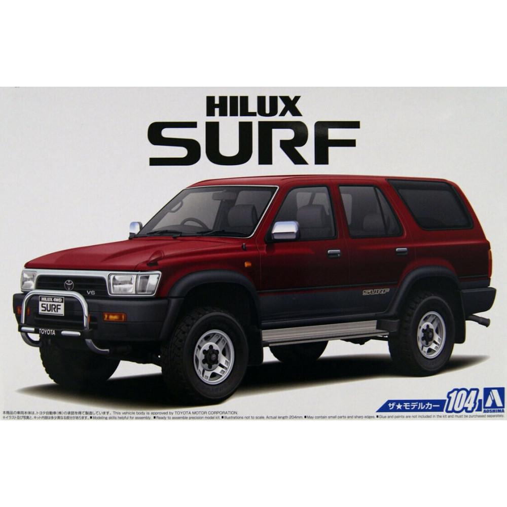 Toyota VZN130G Hilux Surf SS 1/24 Aoshima 05698