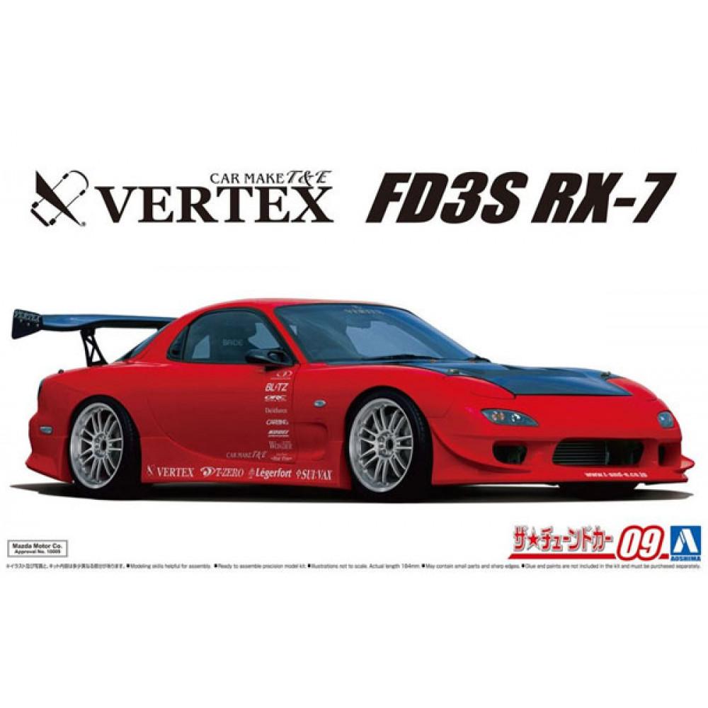 Vertex FD3S RX-7`99 1/24 Aoshima 05839