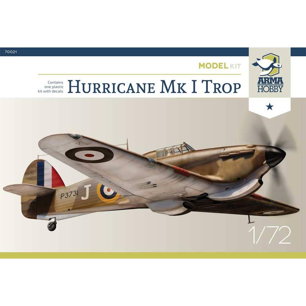 Hurricane Mk I Trop Model Kit! 1/72 Arma Hobby 70021