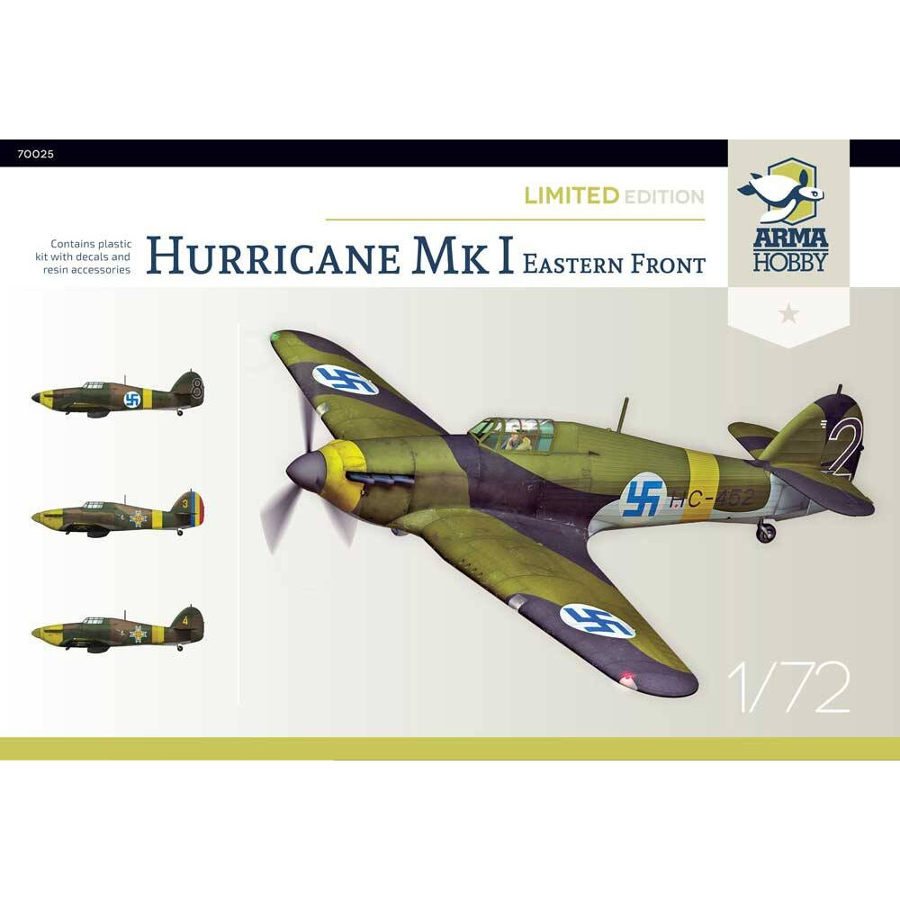 Hurricane Mk I Eastern Front - Limited Edition! 1/72 Arma Hobby 70025