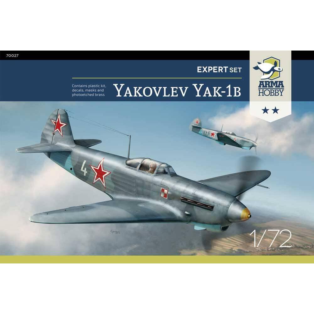 Yakovlev Yak-1b Expert Set! 1/72 Arma Hobby 70027