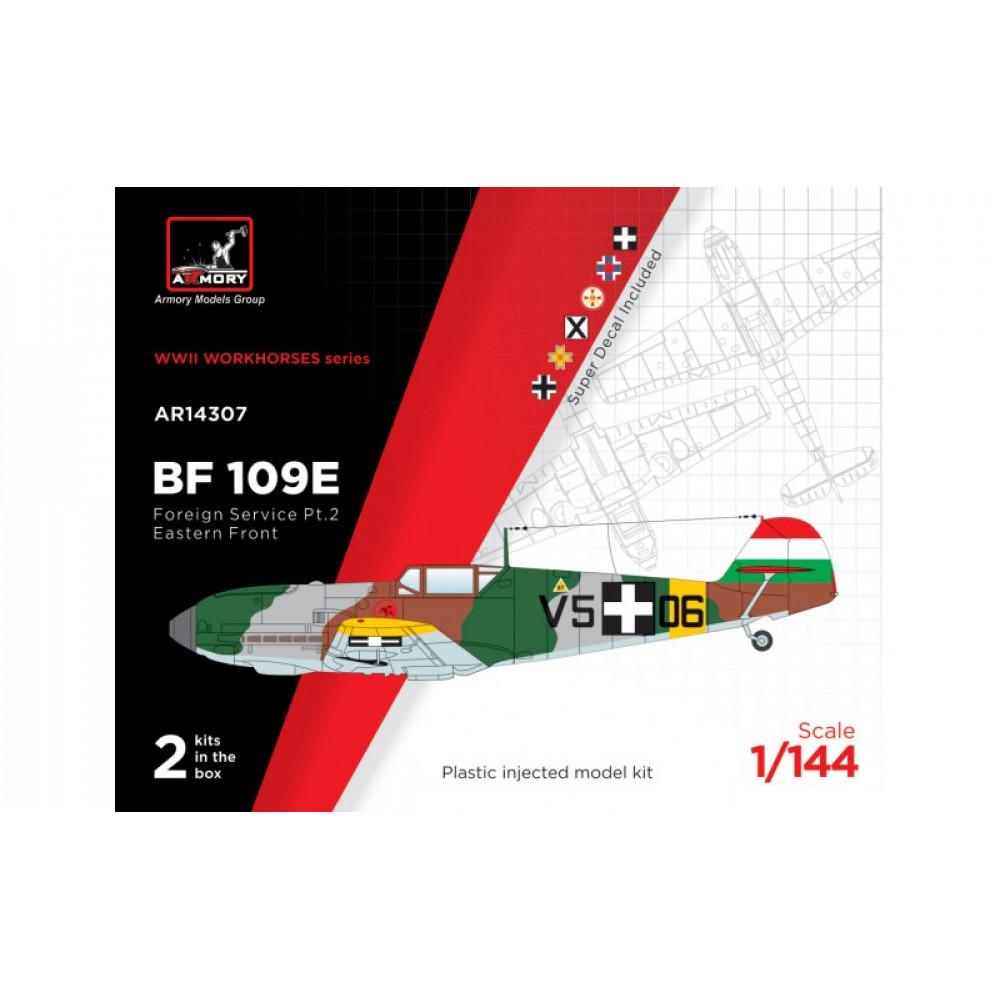"Messerschmitt Bf 109E ""Foreign Service Aces"" 1/144 Armory models AR14307"