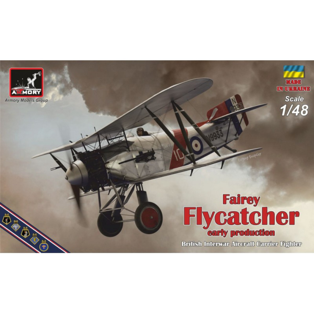 "Fairey ""Flycatcher"" 1/48 Armory models AR48001"