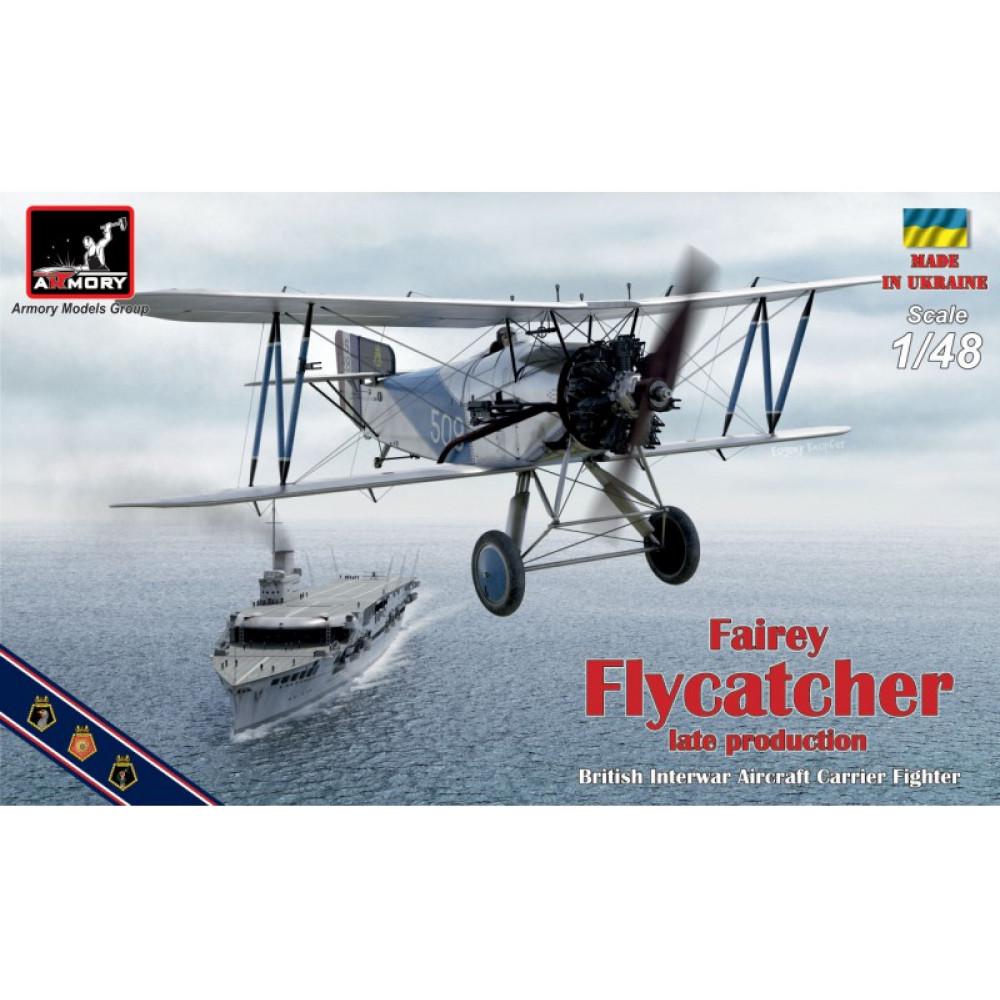 "Fairey ""Flycatcher"", late version 1/48 Armory models AR48002"