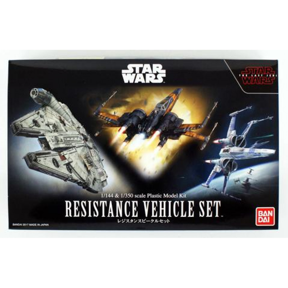 Resistance Vehicle Set  1/144 & 1/350 Bandai Star Wars 0219769