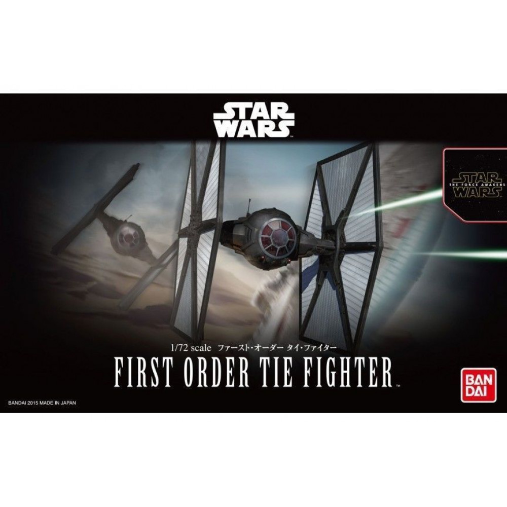 First Order Tie Fighter  1/72 Bandai Star Wars 032182