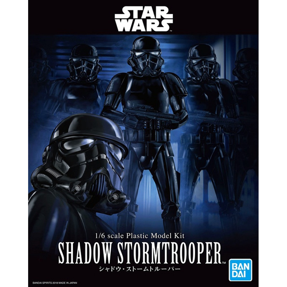Shadow Stormtrooper 1/6  Bandai 055866