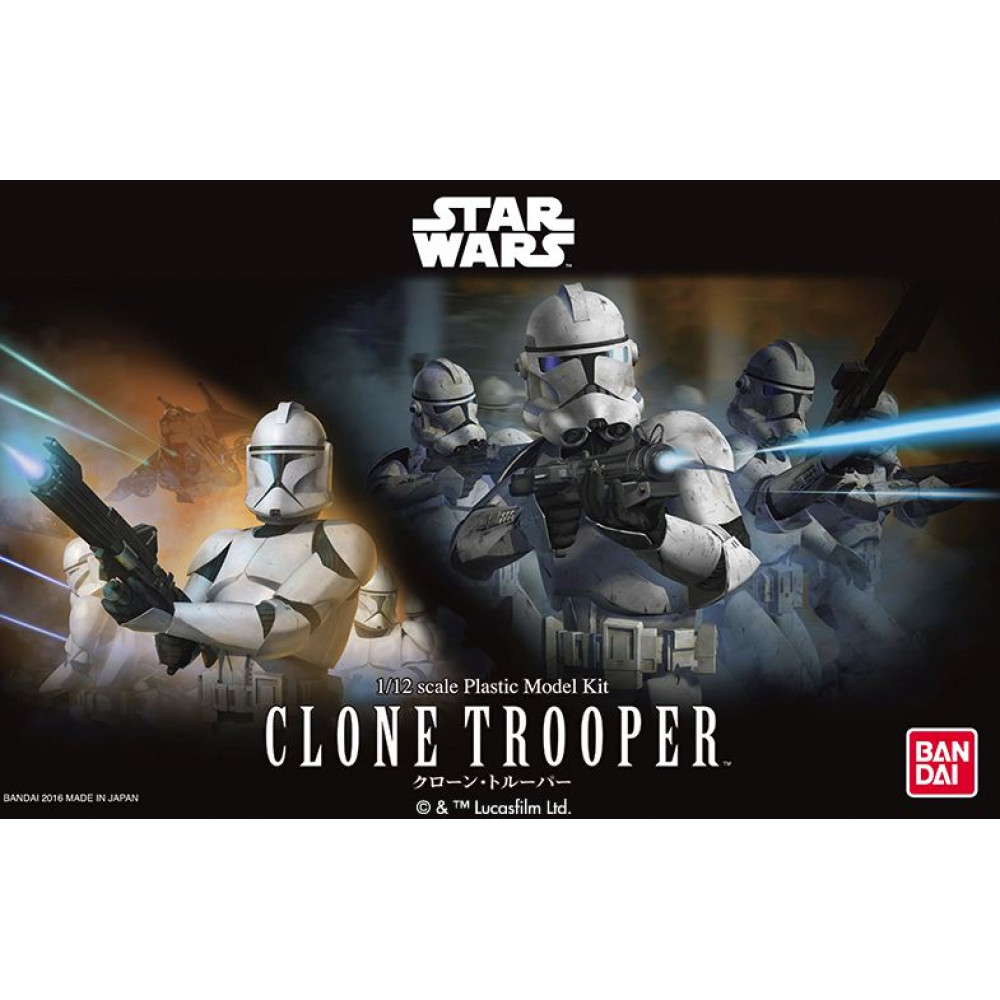 Clone Trooper 1/12 Bandai Star Wars  075745