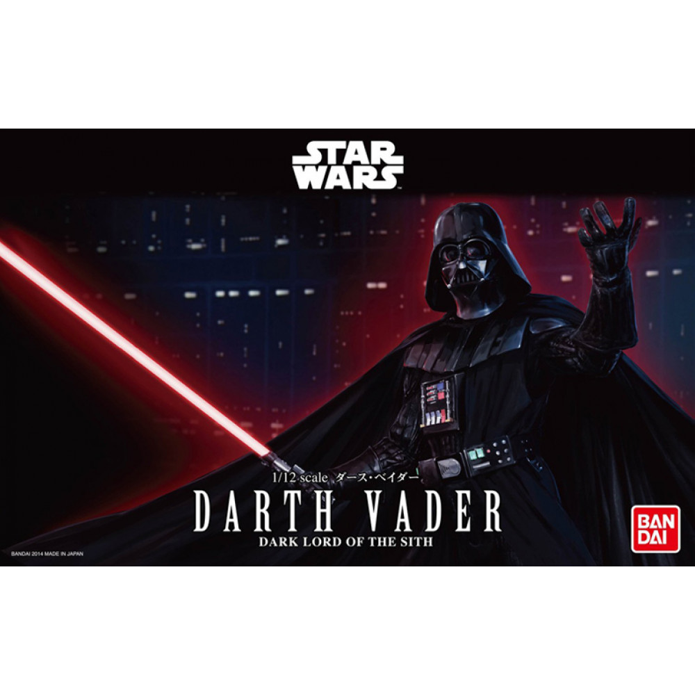 Darth Vader (Plastic Model Kit) 1/12 Bandai Star Wars  191408