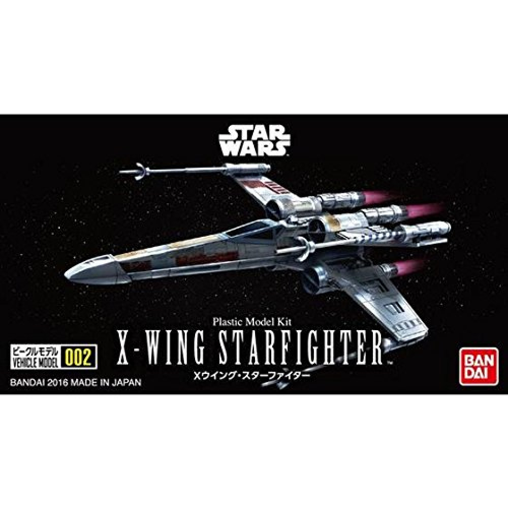 X-Wing StarFighter (Plastic Model Kit) 1/144 Bandai Star Wars  204885