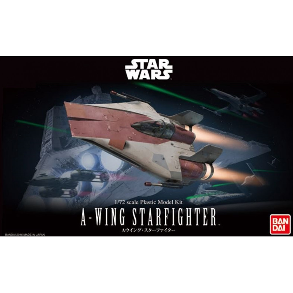 A-Wing Fighter  1/72 Bandai Star Wars 206320