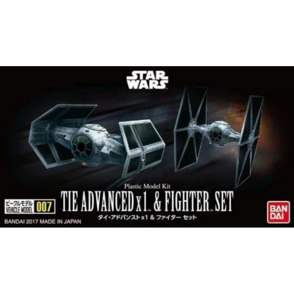 Star Wars Tie Advanced & Fighter Set  Bandai 214502