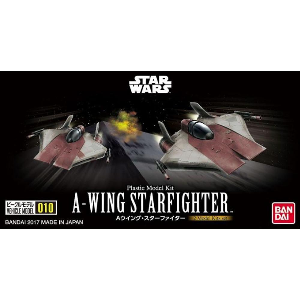 A-wing Star Fighter Dual Set (mini)  Bandai Star Wars  217623