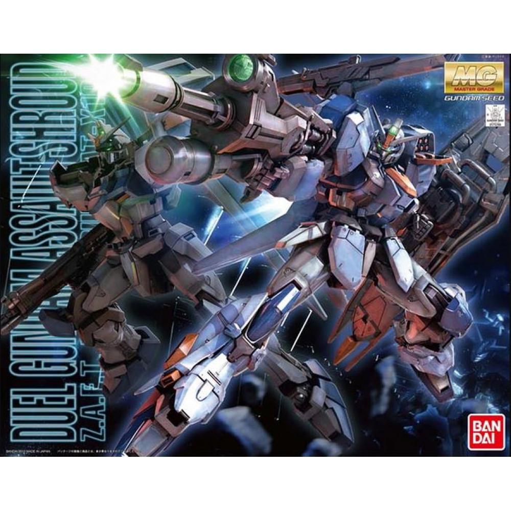 Z.A.F.T. Mobile Suit GAT-X102 MG Duel Gundam Assaultshroud 1/100 Bandai Gundam 75299