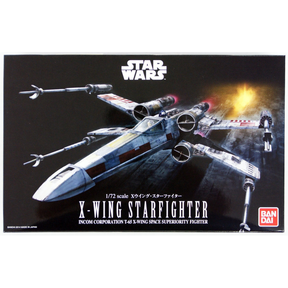X-Wing Fighter  1/72 Bandai Star Wars 914064