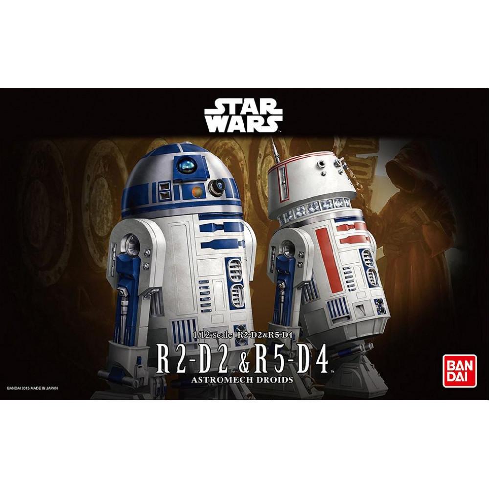 R2-D2 R5-D4  1/12 Bandai Star Wars 95963