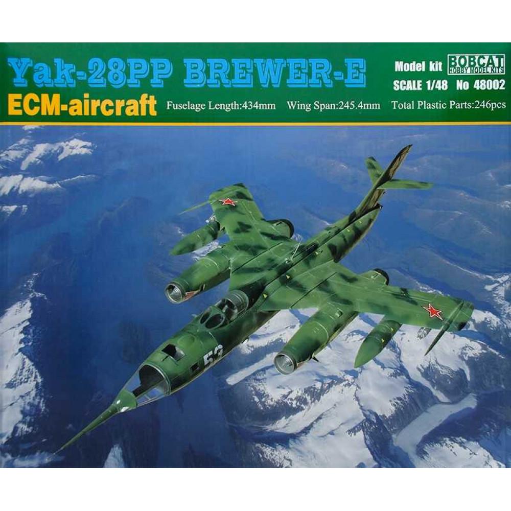 Yak-28PP Brewer-E 1/48 Bobcat 48002