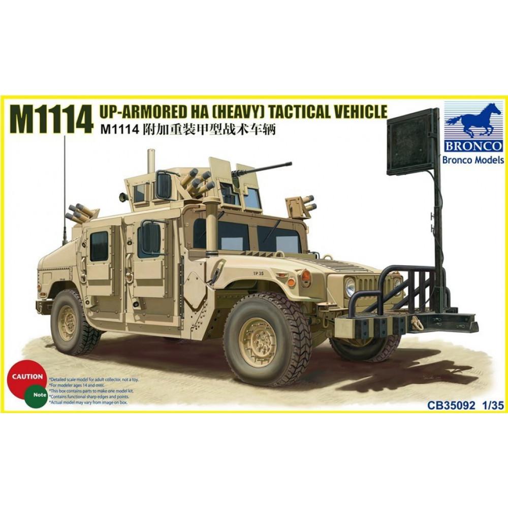 Бронеавтомобиль M114 Up-Armoured HA Tactical Vehicle  1/35 Bronco Models 35092