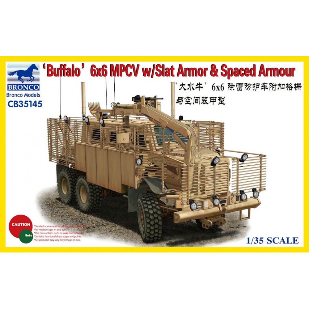 Бронемашина BUFFALO 6x6 MPCV  1/35 Bronco Models 35145