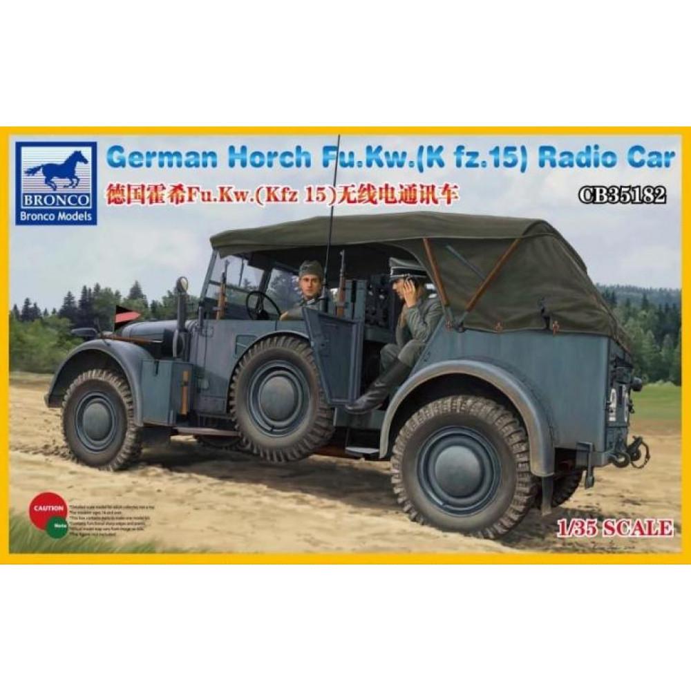 Автомобиль German Horch Fu.Kw.(Kfz.15)  1/35 Bronco Models 35182