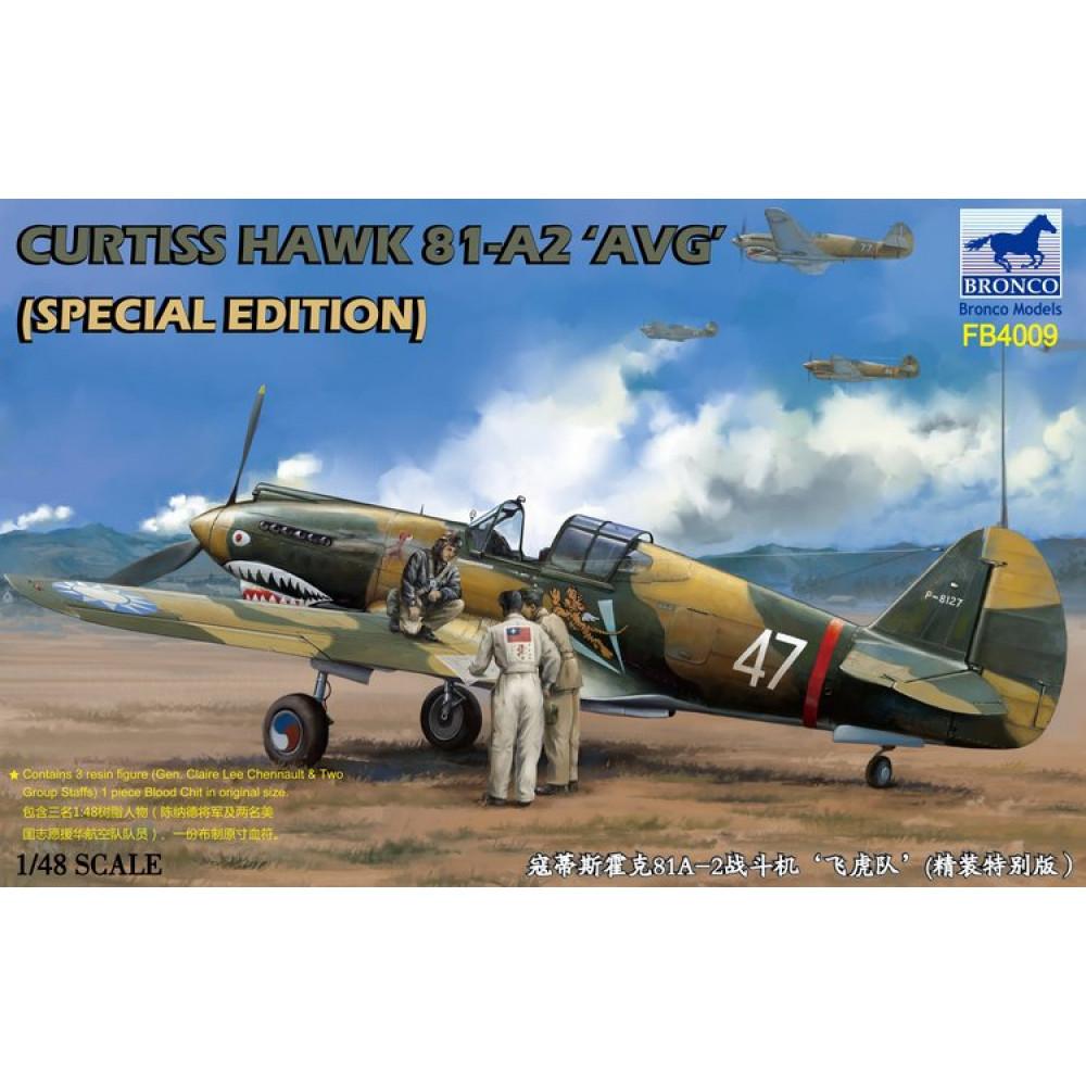 Самолёт Curtiss Hawk 81-A2 AVG  1/48 Bronco Models FB4009