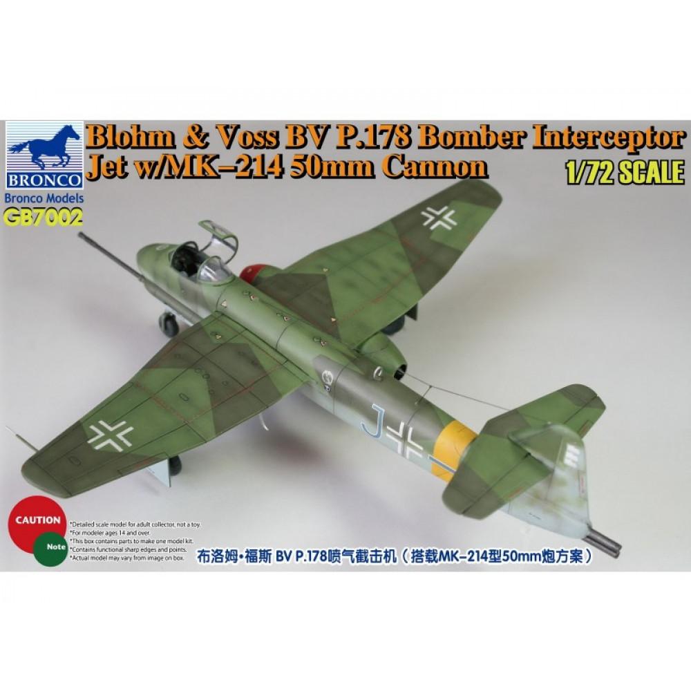 Бомбардировщик Blohm & Voss BV P.17  1/72 Bronco Models GB7002