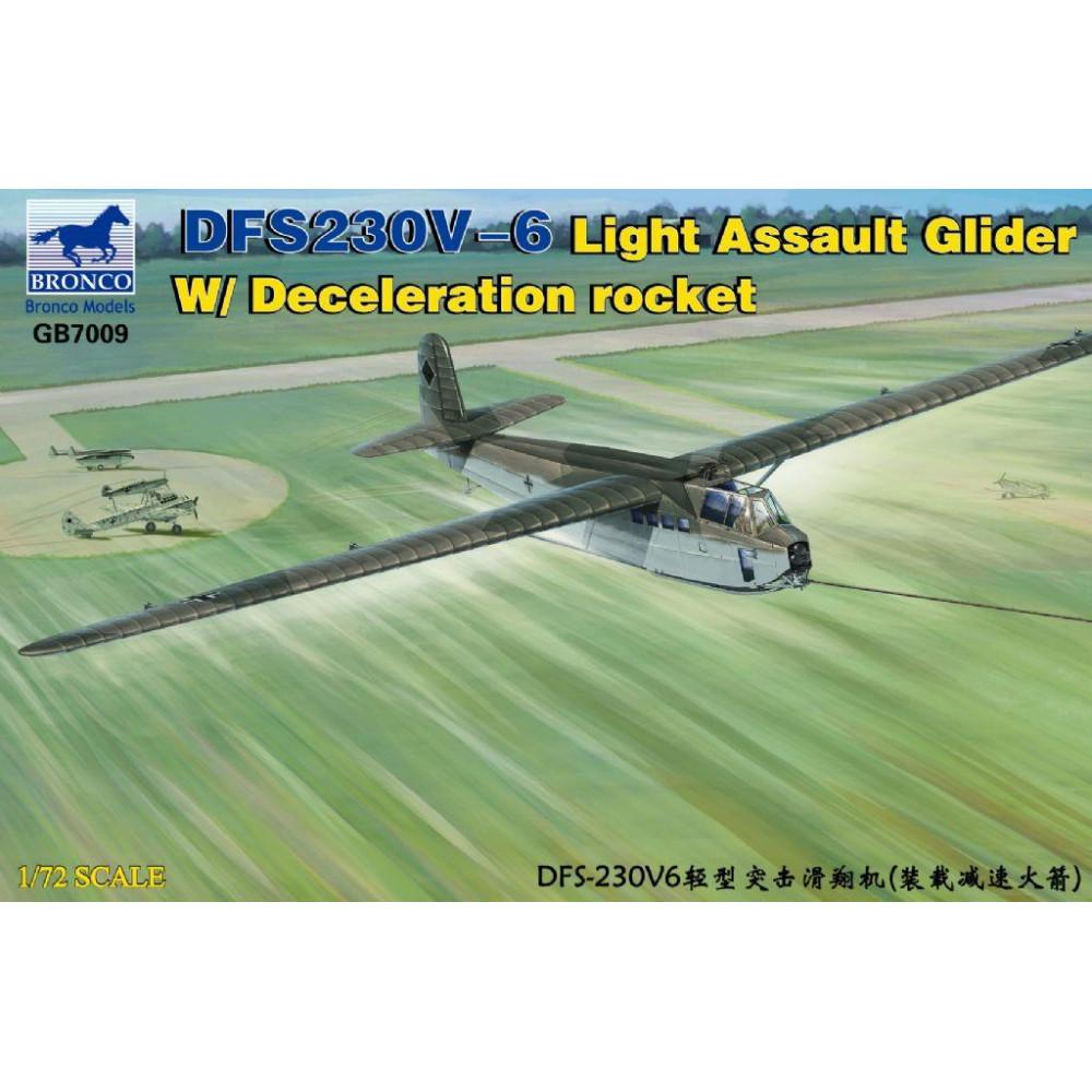 Планер DFS230B-6 Light Assault Glider  1/72 Bronco Models GB7009