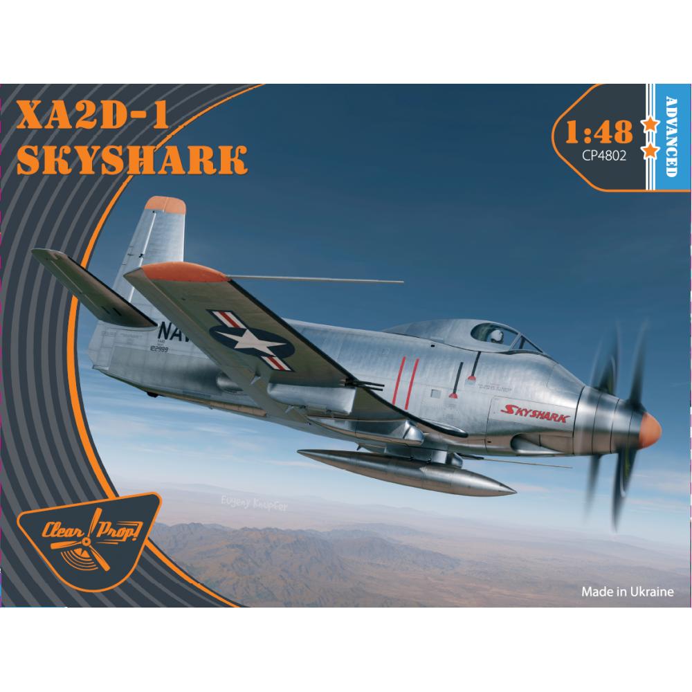 XA2D-1 Skyshark 1/48 Clear Prop 4802