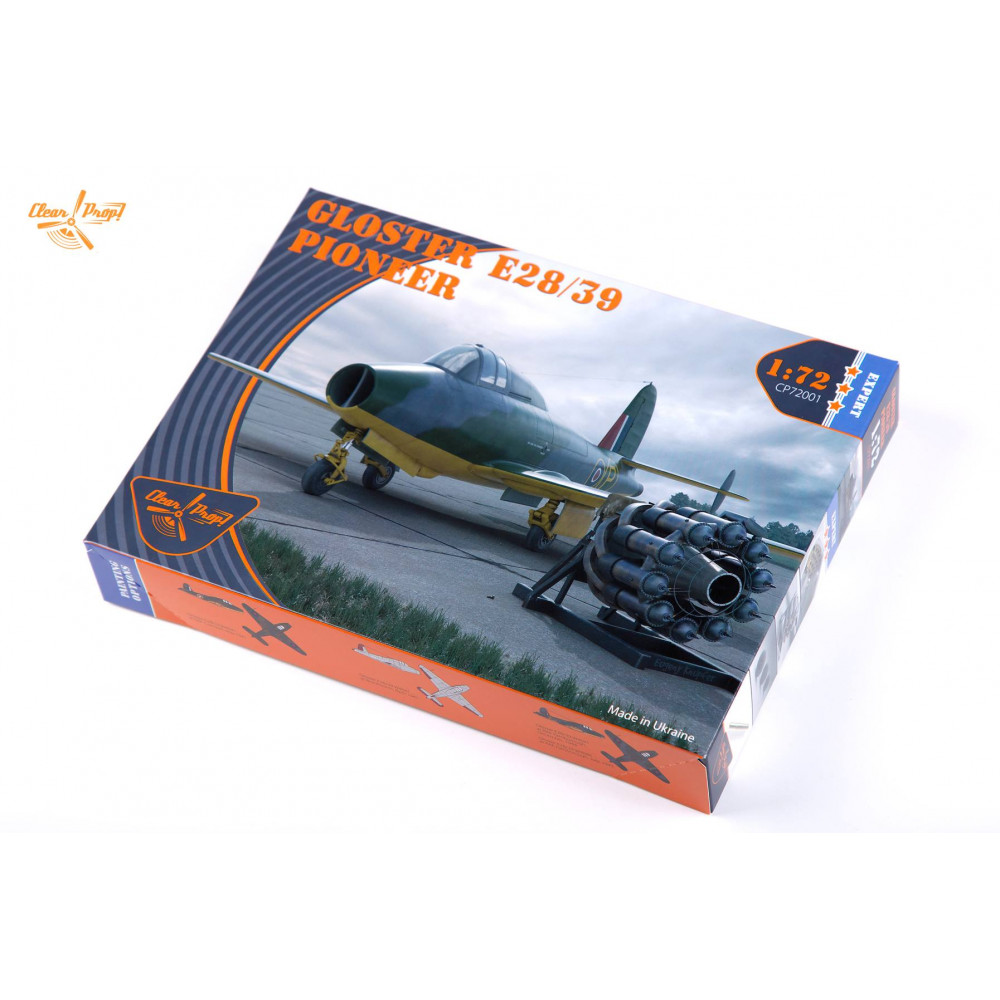 Gloster E28/39 Pioneer expert kit 1/72 Clear Prop  72001
