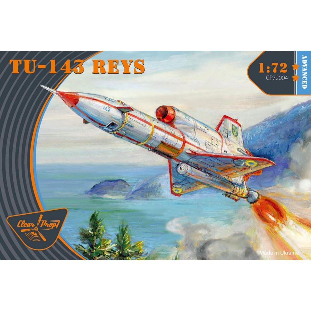 Tu-143 Reys advanced kit 1/72 Clear Prop  72004