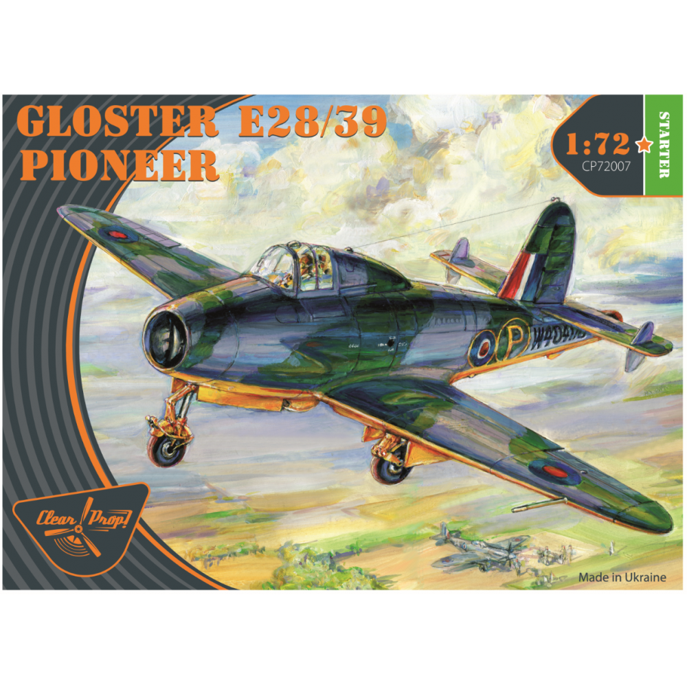 GLOSTER E28/39 PIONEER 1/72 Clear Prop 72007