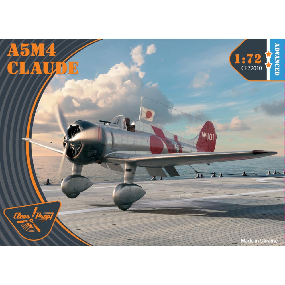A5M4 Claude 1/72 Clear Prop 72010