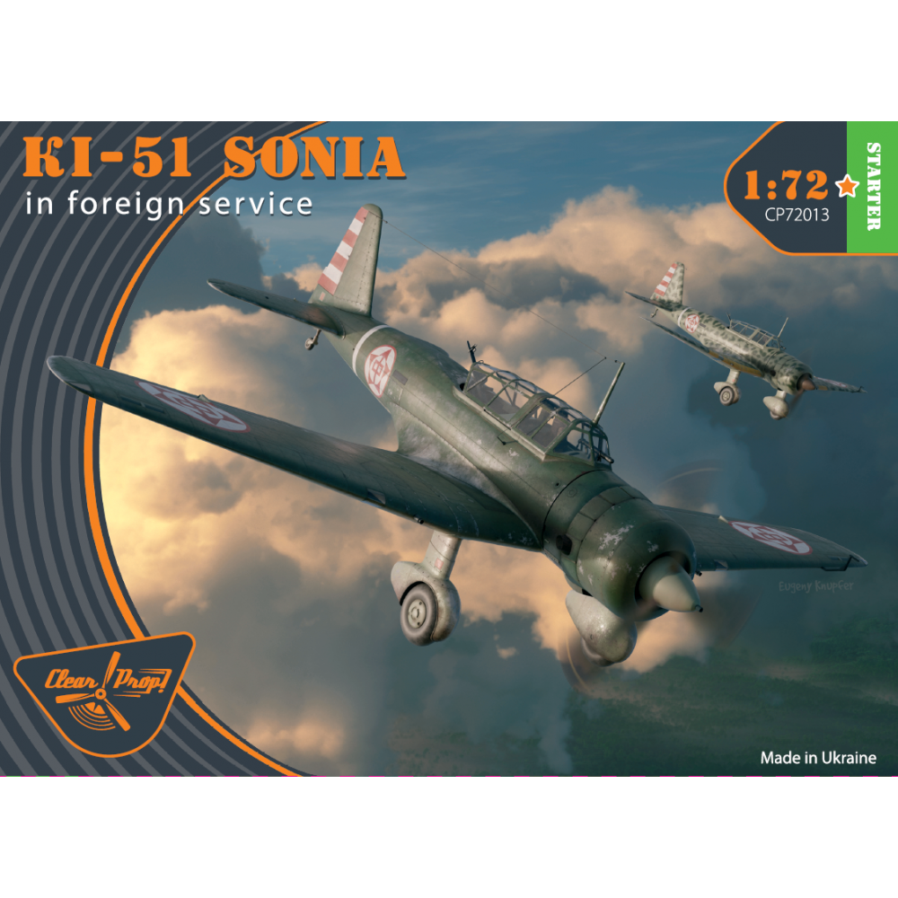 Ki-51 Sonia in foreign service 1/72 Clear Prop 72013
