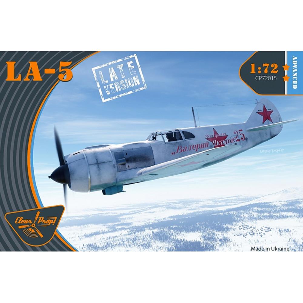 Lavochkin La-5 late 1/72 Clear Prop 72015