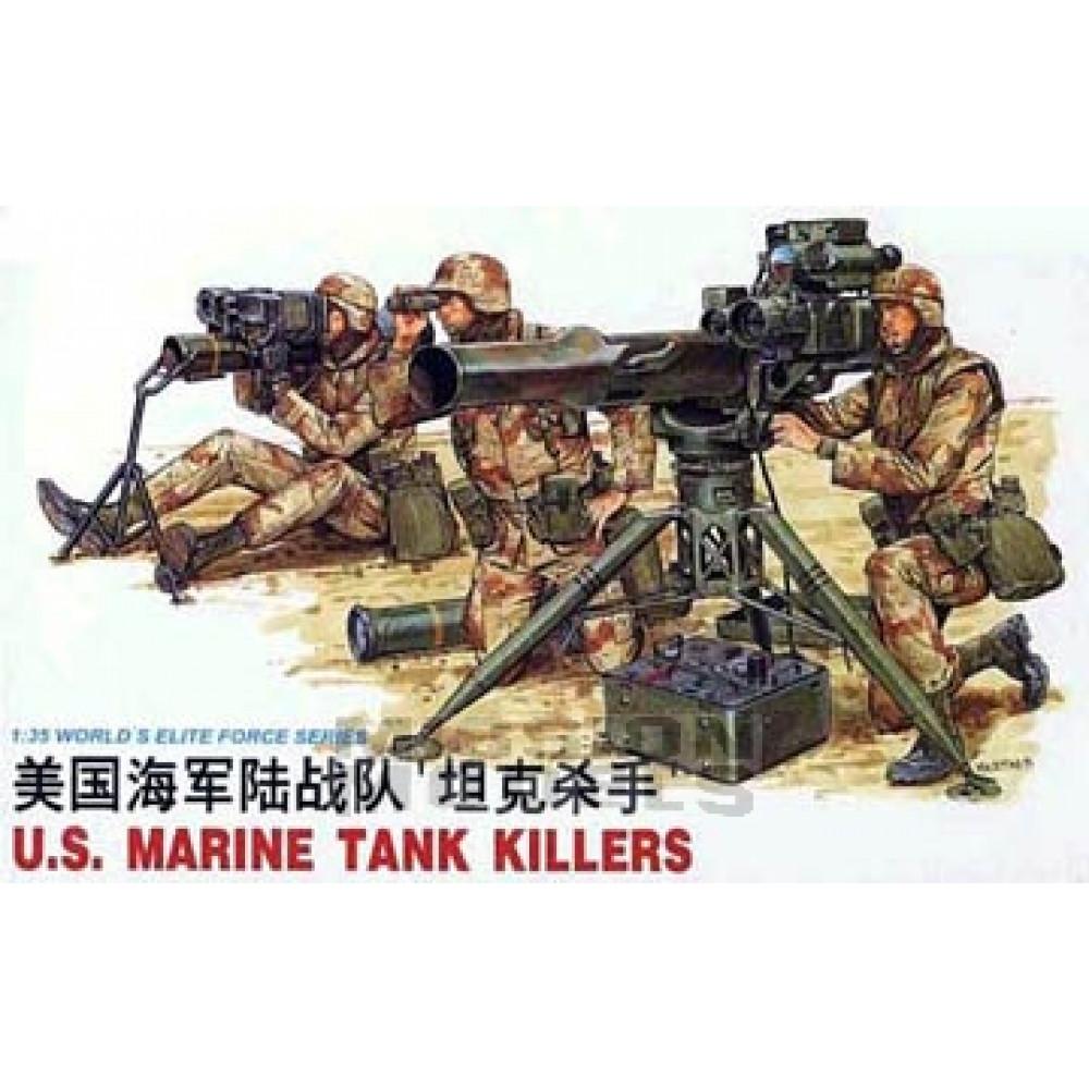 Американские морские пехотинцы с  ПТРК (война в заливе)  1/35 Dragon 3012
