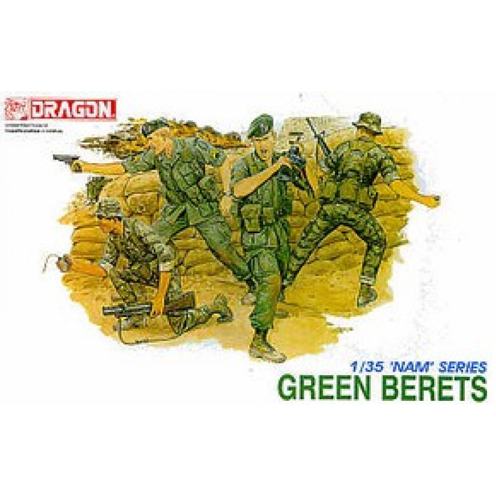 """Американские бойцы подразделения спецназначения - """"Зелёные береты"""" 1/35 Dragon 3309"""