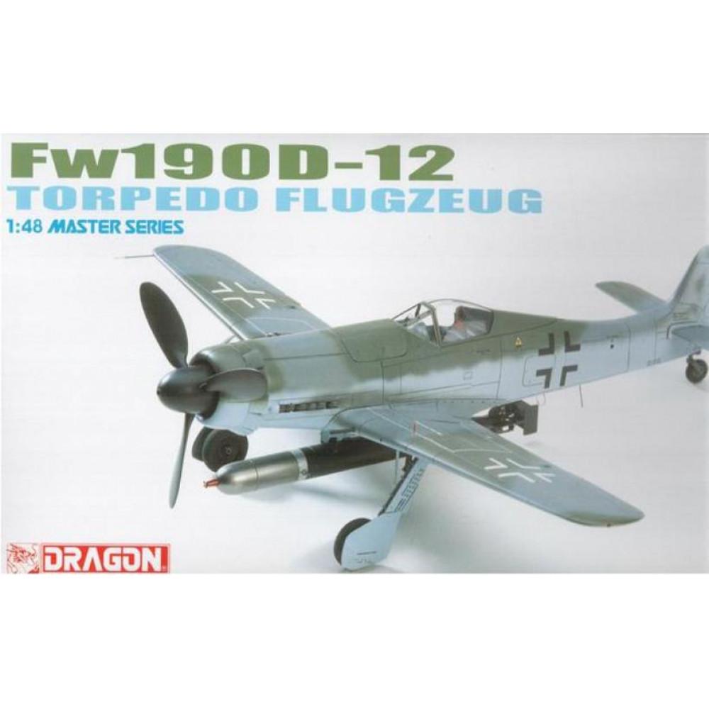 Focke-Wulf FW-190D-12 истребитель-торпедоносец  1/48 Dragon Models 5534