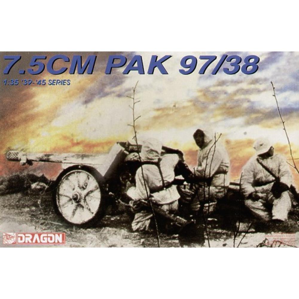German 7.5CM PAK 97/38 1/35 Dragon 6123