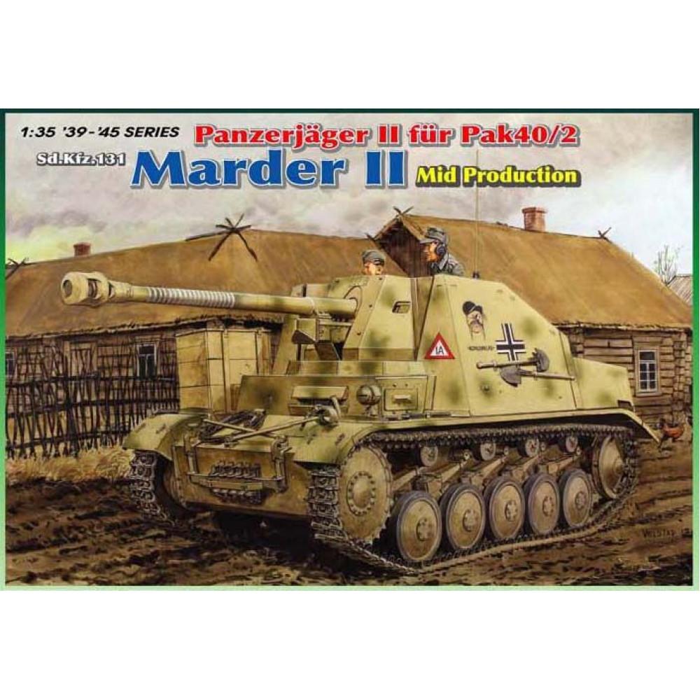 Немецкая противотанковая САУ Marder II   1/35 Dragon Models 6423